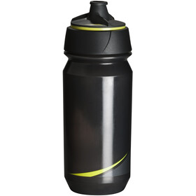 Tacx Shanti Twist Drinking Bottle 500ml, smoke/bright yellow